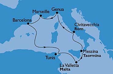 Rejs – Klejnoty Morza Śródziemnego