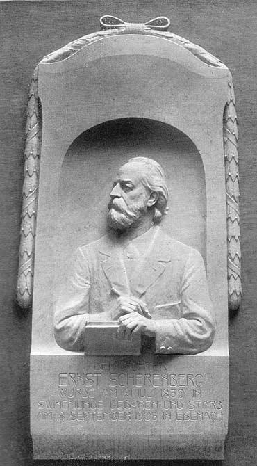 Pomnik poety i przedsiębiorcy Ernesta Scherenberga