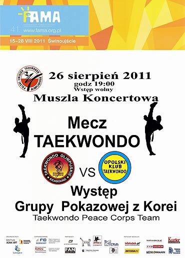 Gala Taekwondo w muszli koncertowej