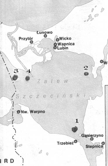 Latarniowce na Zalewie Szczecińskim