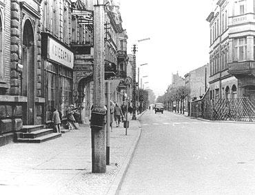 Nazwy ulic Świnoujścia po 1945 r.