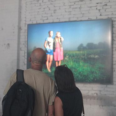 Famowicze zaprezentowali swoje dzieła w Basenie Północnym