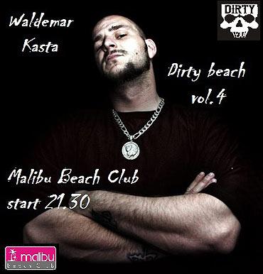 Dirty Beach vol. 4, gość specjalny Waldemar Kasta