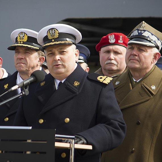 Kontradmirał Jarosław Zygmunt przejął dowodzenie 8 Flotyllą Obrony Wybrzeża