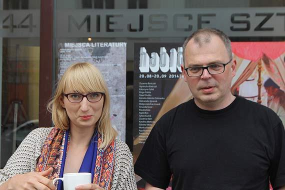 Nagradzana pisarka była kolejnym gościem Darka Foksa