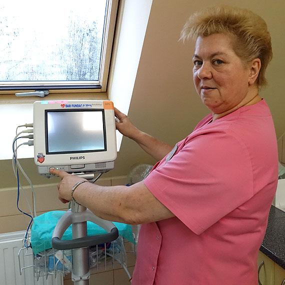 Świnoujski szpital też został obdarowany przez WOŚP