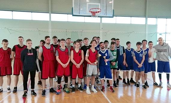 Licealiada - piłka koszykowa chłopców