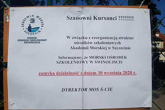 Czy dla Akademii Morskiej Świnoujście jest za bardzo morskie?