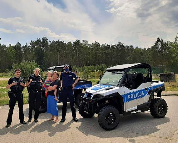 Zaginiona 6-latka odnaleziona dzięki współpracy polskiej oraz niemieckiej policji. W działaniach wykorzystano pierwszy raz policyjnego Polarisa