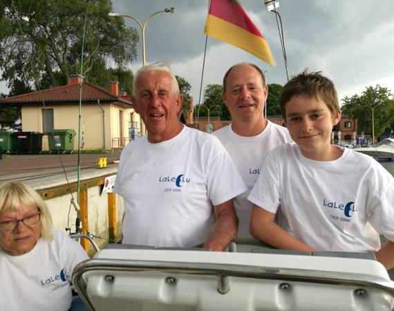 Państwo Dresslerowie z Berlina; pasjonaci żeglarstwa, miłośnicy Świnoujścia!