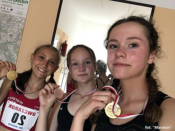 "Trzy medale lekkoatletek ""Maratonu"""