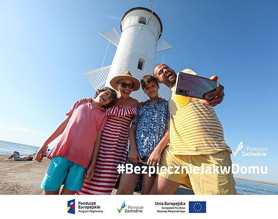 #BezpiecznieJakwDomu. Pomorze Zachodnie zachęca do spędzenia wakacji w regionie