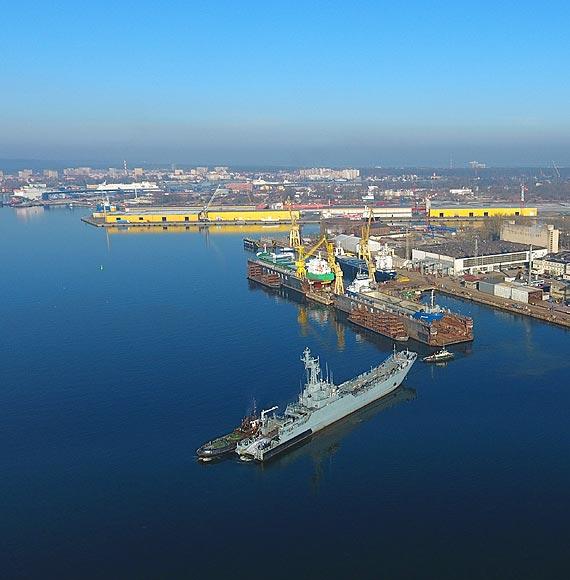 Grupa Morska o historii i kondycji Morskiej Stoczni Remontowej