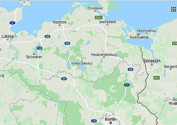 Indywidualni polscy turyści nadal nie mogą wjeżdżać na teren Meklemburgii-Pomorza Przedniego