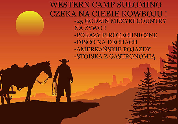 Western Piknik odbędzie się jak zawsze! Kowboje, przybywajcie!