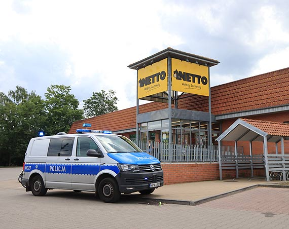 Policja schwytała sklepowego złodzieja