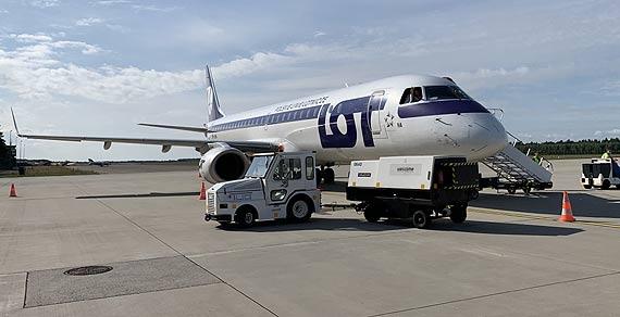 Inauguracja pierwszego w historii Portu Lotniczego Szczecin – Goleniów, rozkładowego połączenia na południe Europy