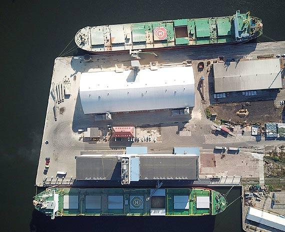 Drony wzmocnią bezpieczeństwo Portu Szczecin-Świnoujście