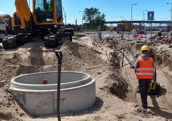 Świnoujście buduje tunel. Chińczycy demontują ogromną maszynę