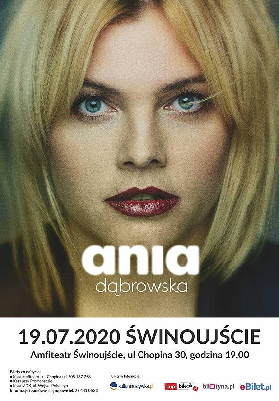 Koncert Ani Dąbrowskiej w świnoujskim Amfiteatrze