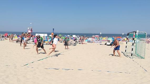Turniej w piłce ręcznej plażowej Masters podsumowanie I edycji