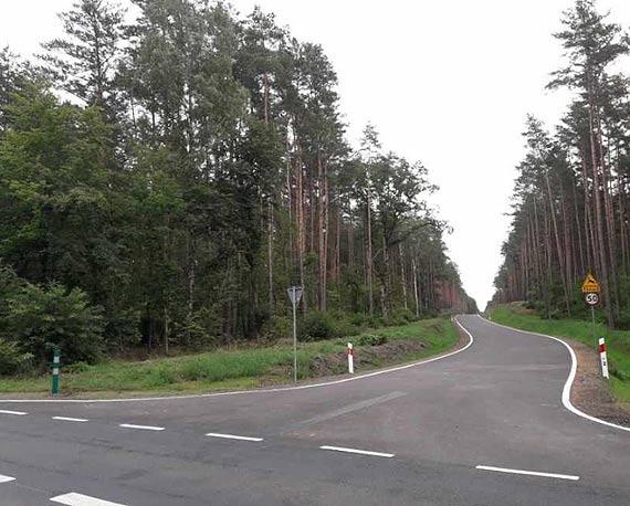 Droga wspomagająca Niedźwiedź - Zdunowo udostępniona kierowcom