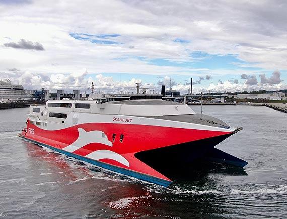Rusza nowe połączenie promowe FRS - Polacy dopłyną szybciej do Ystad