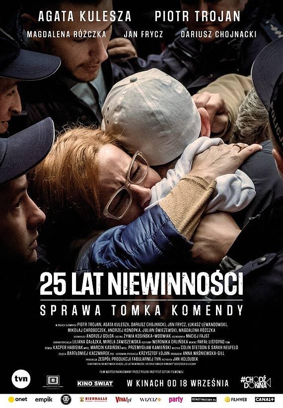 """""""25 lat niewinności. Sprawa Tomka Komendy"""" premierowo w Cinema3D!"""