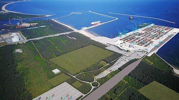 Rozpoczęcie postępowania w sprawie terminala kontenerowego w porcie morskim Świnoujście