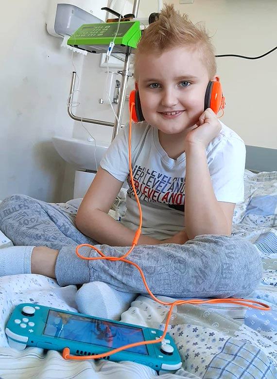 Pomóżmy Jaśkowi w podróży do zdrowia!
