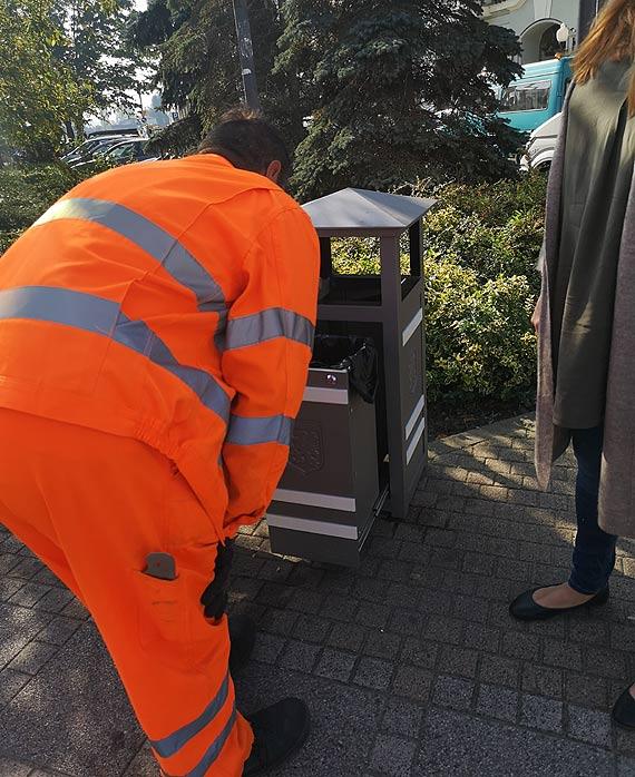 Mieszkaniec: Nowe śmietniczki na ulicach Świnoujścia
