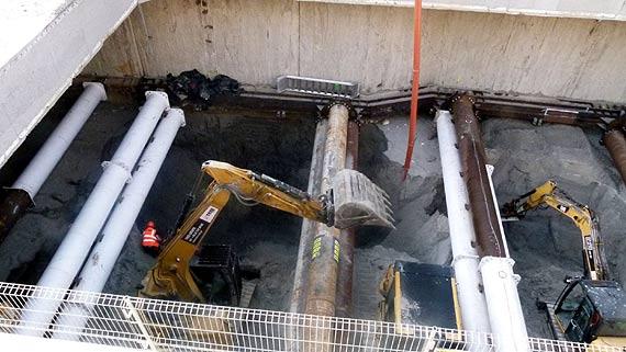 Budowa tunelu. Raport z postępu prac 14-20 września 2020