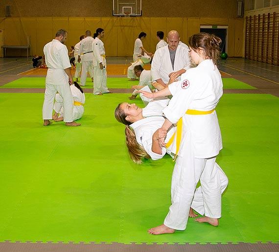 W Świnoujściu przybywa zwolenników aikido