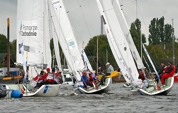 Finałowa runda 1 Polskiej Ligi Żeglarskiej w Szczecinie