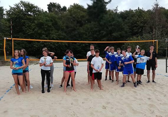 Mistrzostwa miasta Świnoujście w piłce siatkowej - plażowej w ramach igrzysk młodzieży szkolnej 2020/2021