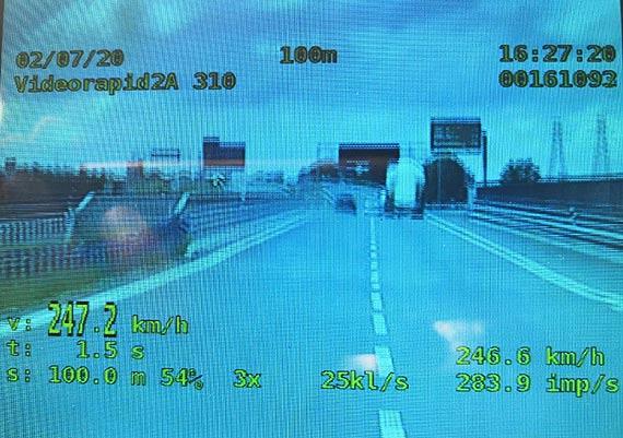 Wyrok dla kierującego za brawurową jazdę na S-11