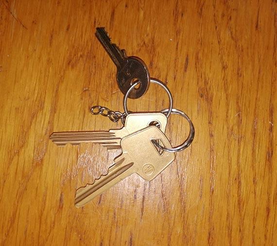Znalezionu klucze