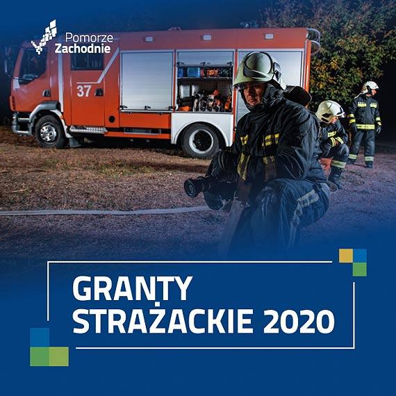 34 jednostki OSP z Grantami Strażackimi marszałka