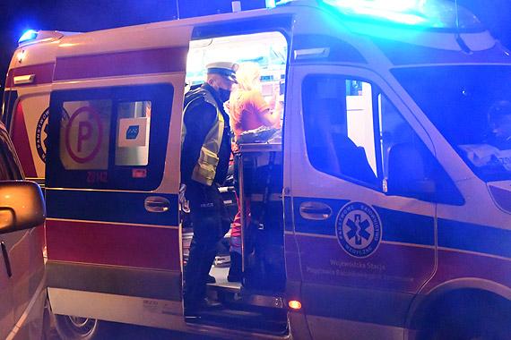 Zmarła kobieta potrącona przez samochód