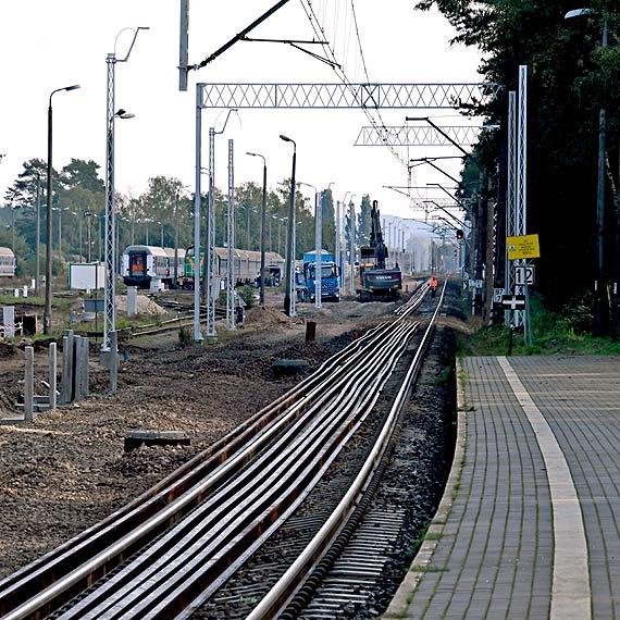 Kolejne nowe tory dla lepszego dostępu do portów w Szczecinie i Świnoujściu. Zobacz film!