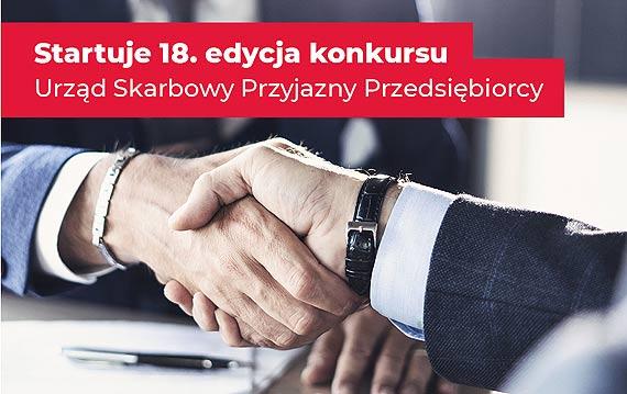 Osiemnasta edycja konkursu Urząd Skarbowy Przyjazny Przedsiębiorcy