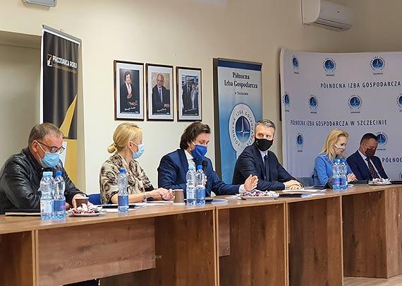 Merytorycznie i z konkretnymi wnioskami. Takie było spotkanie Zachodniopomorskiego Zespołu Parlamentarnego w Północnej Izbie Gospodarczej w Szczecinie