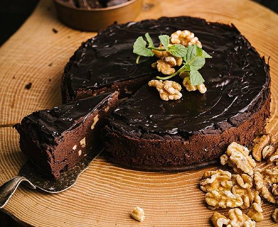 Czekoladowe brownie z czerwonej fasoli