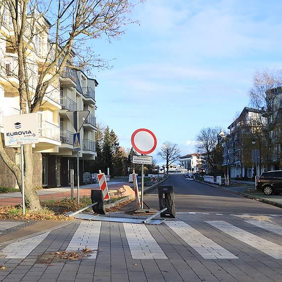 Ulica Trentowskiego ma być gotowa na początek grudnia