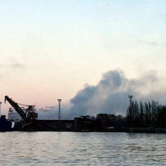 Czytelniczka: Kłęby drażniącego dymu nad Warszowem