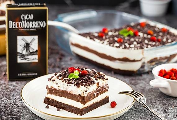 Przepis na czekoladową lasagne: Poczuj intensywny smak czekolady do picia autorstwa DecoMorreno