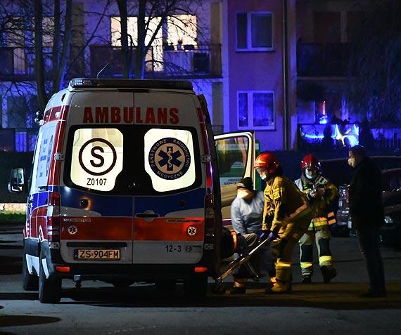 Pogotowie ratunkowe potrzebowało wsparcia strażaków