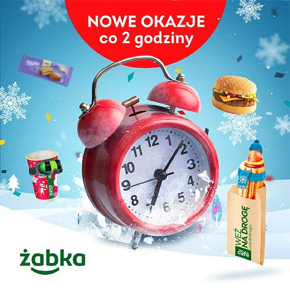 W Żabce ferie z happy hours – co 2 godziny nowe promocje na ulubione produkty
