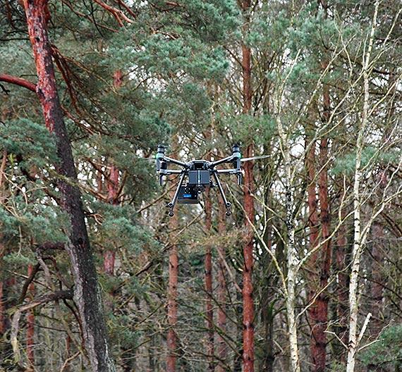 Dron zadba o bezpieczeństwo i czyste powietrze w Świnoujściu