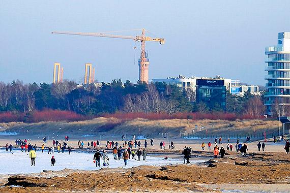 W Świnoujściu jest coraz więcej turystów